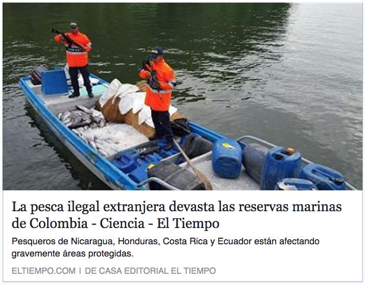 La pesca ilegal extranjera devasta las reservas marinas de Colombia