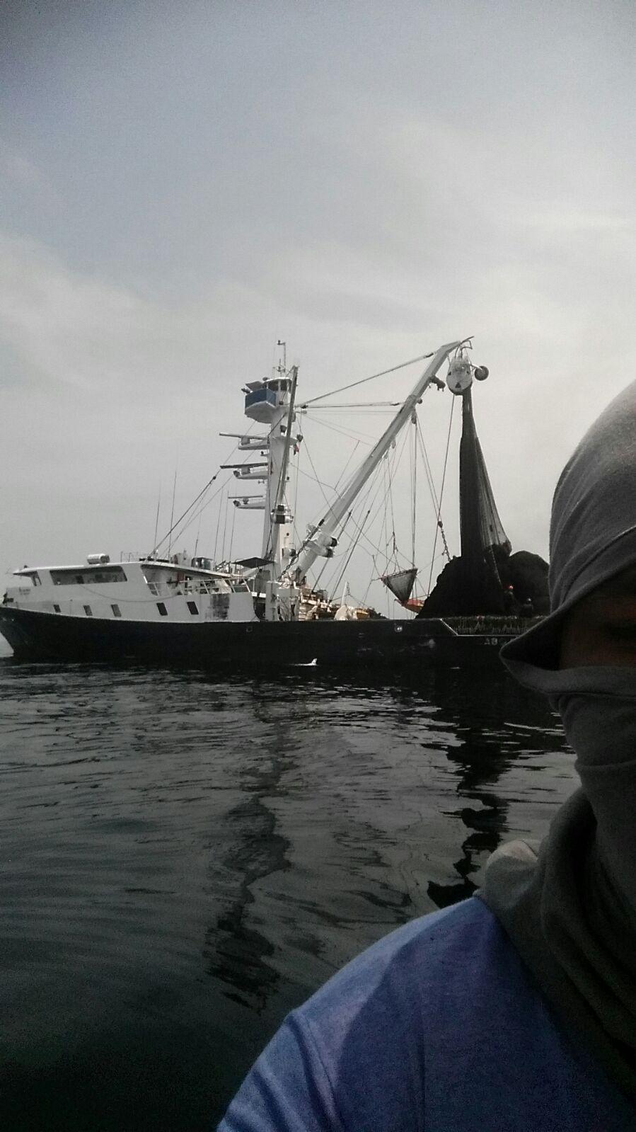 Capturada embarcación